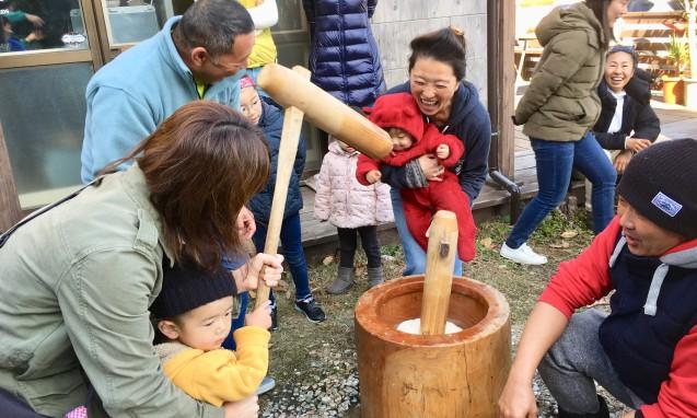 新春餅つき大会|副腎疲労blog