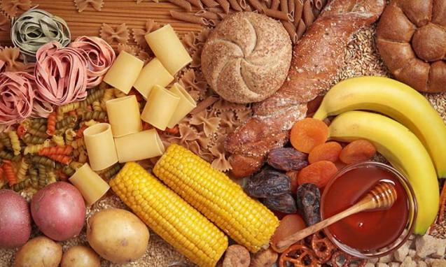 たくさんの炭水化物の食材達|副腎疲労blog