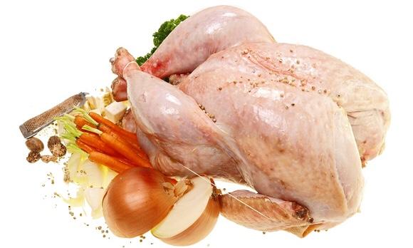 ローストチキン用の立派な鶏肉と野菜達|副腎疲労blog