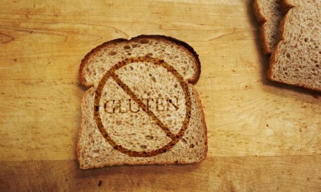 茶色の食パンの上にGLUTEN禁止のマーク|副腎疲労 blog