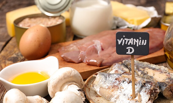 ビタミンDを含んでいる食材の写真|副腎疲労blog