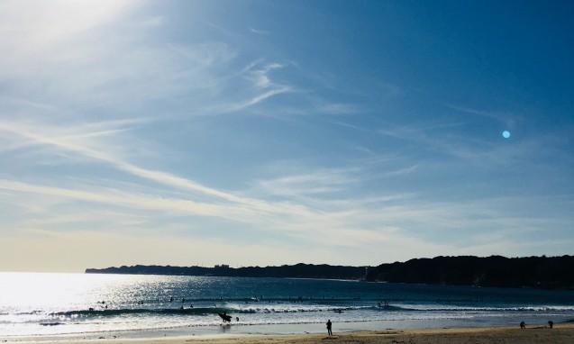 夕暮れの海岸|副腎疲労blog