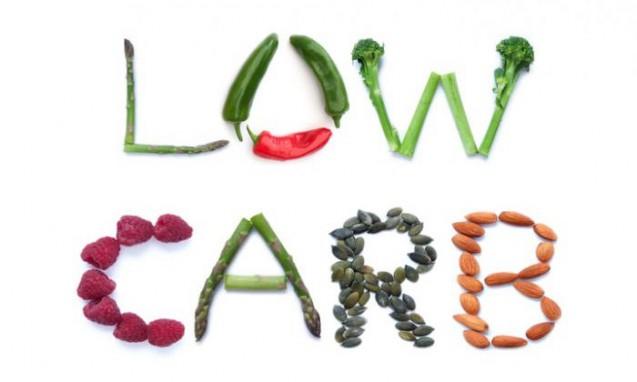 野菜と豆で形作ったLOW-CARBの文字|副腎疲労blog