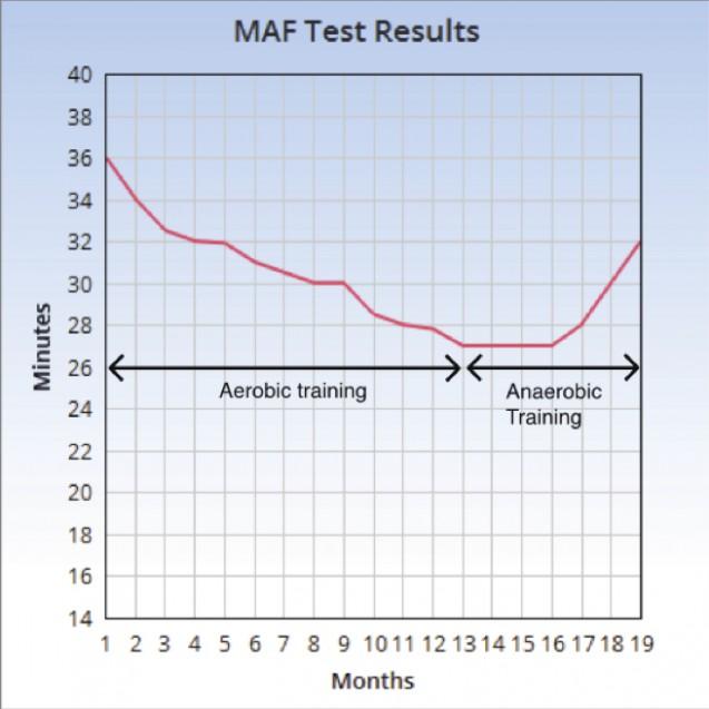 MAFテストをグラフにしたもの|副腎疲労blog